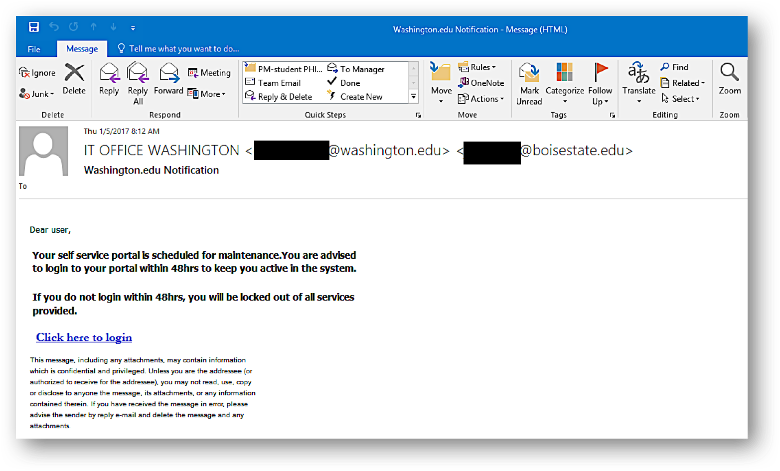 Phishing Examples Office Of The Ciso